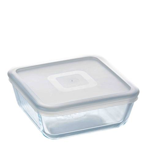 Pyrex Set of 6 Cook & Freeze Square Dishes with Lid, 850ml