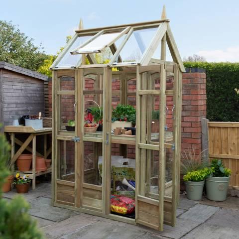 Forest Garden Victorian Walkaround Greenhouse