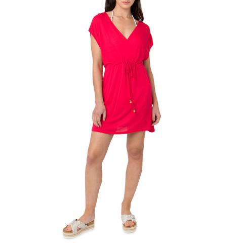Pia Rossini Red  Evora Beach Dress