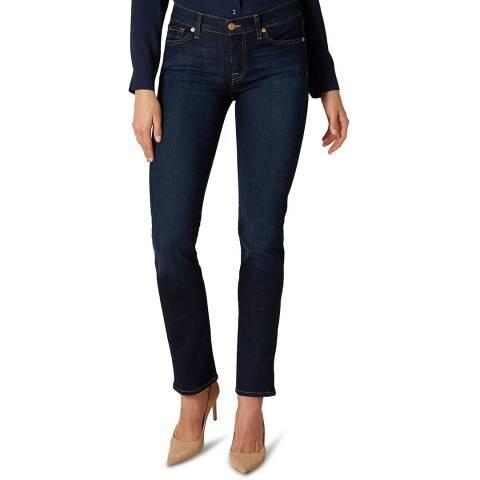 7 For All Mankind Indigo Roxanne Stretch Jeans