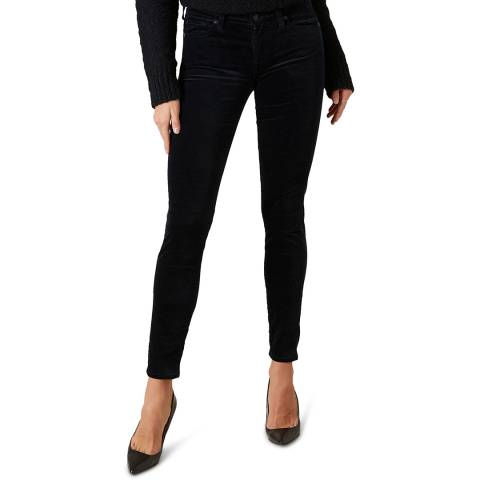 7 For All Mankind Navy The Skinny Stretch Jeans