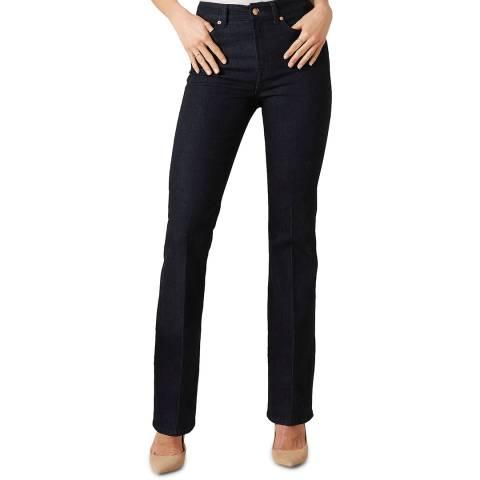 7 For All Mankind Dark Blue Lisha Slim Illusion Stretch Jeans