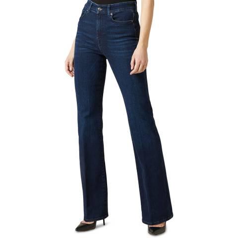 7 For All Mankind Indigo Lisha Slim Illusion Stretch Jeans