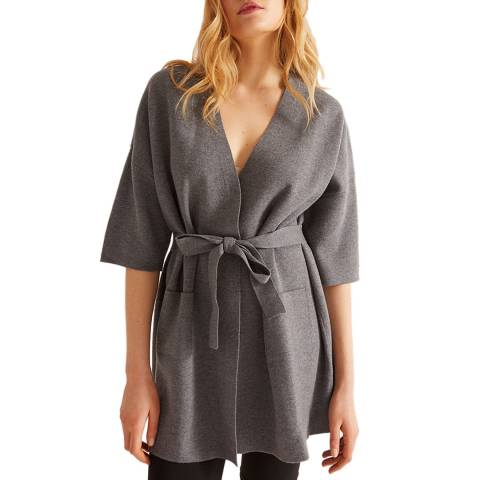 Rodier Mid Grey Wool Blend Jacket