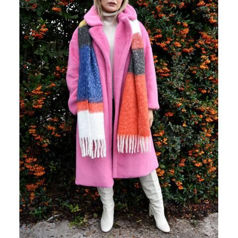 JayLey Collection Multi Cashmere Blend Wrap
