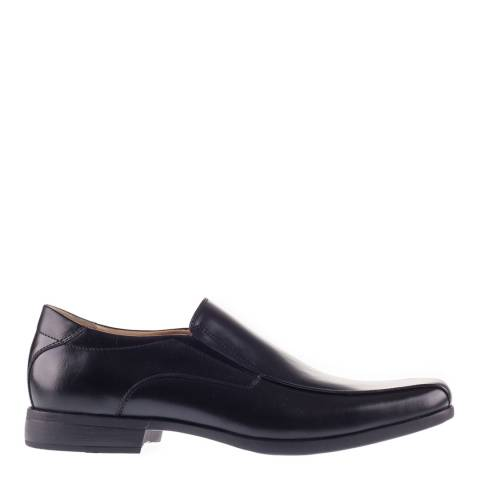 Steptronic Black Welling Leather Formal Shoes