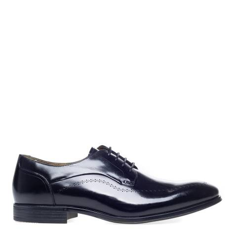 Steptronic Black Fareham Leather Formal Shoes