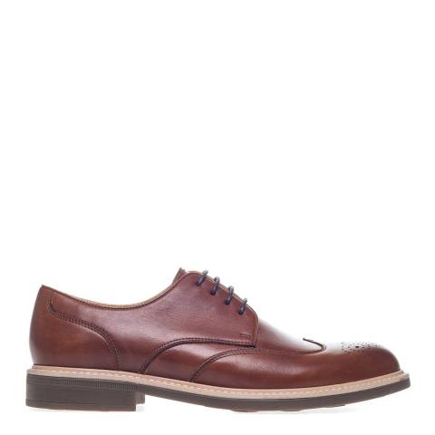 Steptronic Cognac George Leather Formal Shoes