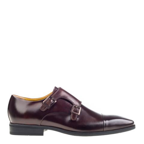 Steptronic Brown Hampstead Leather Formal Shoes