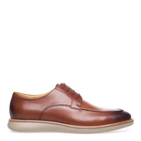 Steptronic Cognac Noel Leather Formal Shoes