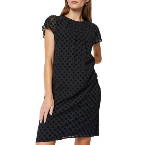 Great Plains Black Solar Spot Dress