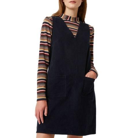Great Plains Navy Orlando Cord Dress