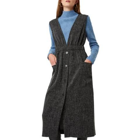 Great Plains Black Modern Tweed Dress