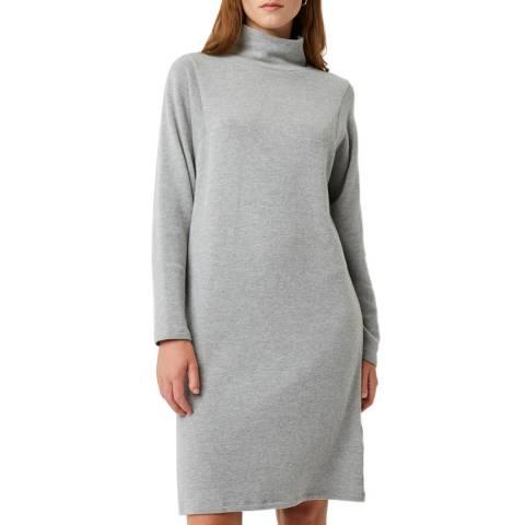 Great Plains Grey Kitten High Neck Dress