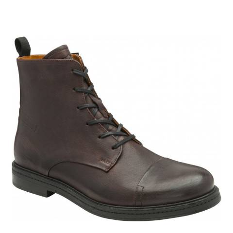 Frank Wright Burgundy Farrier Leather Ankle Boot