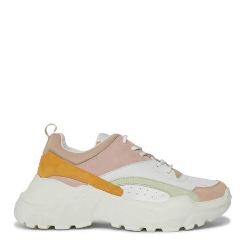 Philip Hog Blush Amanda Leather Sneakers
