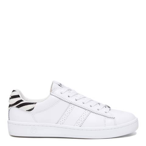 Philip Hog White/Zebra Serena Sneakers