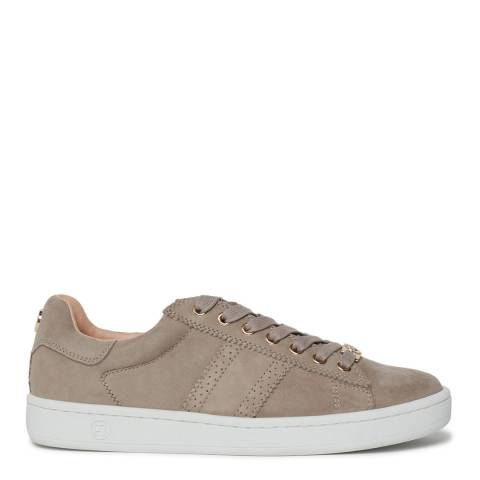 Philip Hog Beige Serena Suede Sneakers