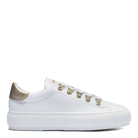 Philip Hog White Mimi Leather Sneakers