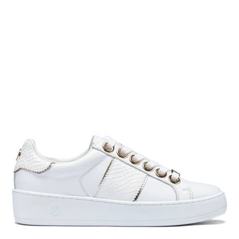 Philip Hog White Mila High Leather Sneakers