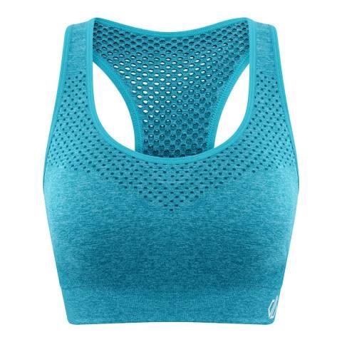 Dare2B Fresh Water Blue Dont Sweat It Bra