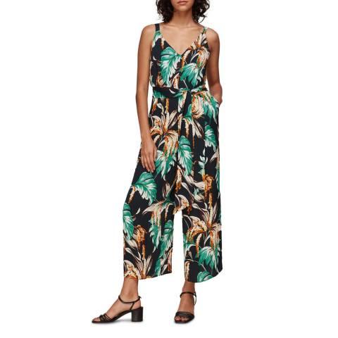 WHISTLES Multi Tropical Floral Jumpsuit