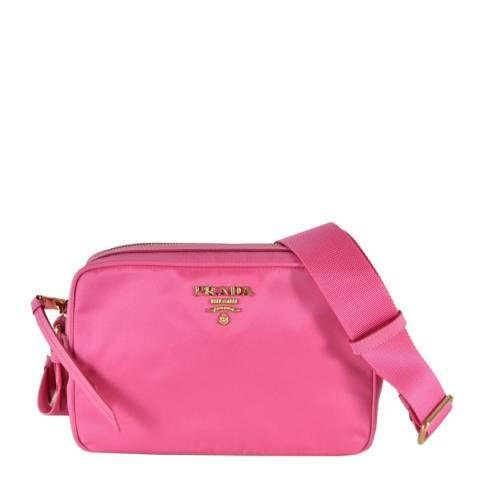 Prada Pink Nylon Crossbody Bag