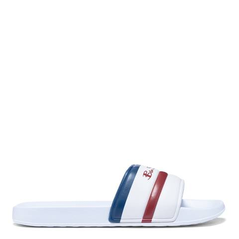 Ben Sherman White Sidney Slides