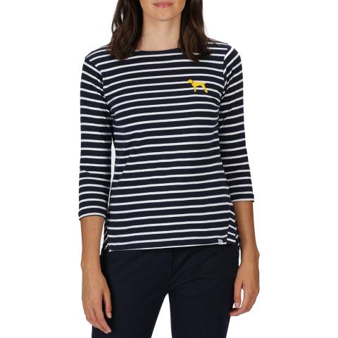 Regatta Navy Long Sleeve Breton Top