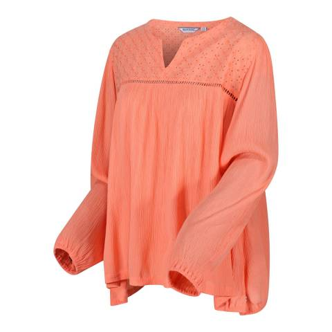 Regatta Coral Long Sleeve Broderie Shirt