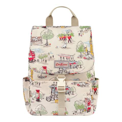 Cath Kidston Ivory Billie Goes to Town Buckle Backpack