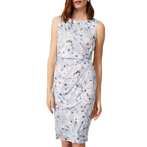 Phase Eight Blue Etta Floral Dress