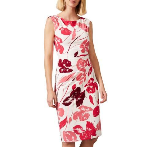 Phase Eight Cream Alexi Print Dress
