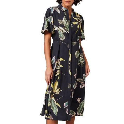Phase Eight Blue Hermy Floral Dress