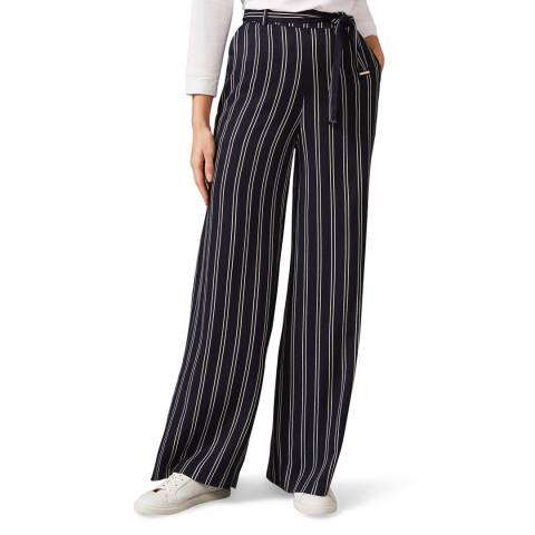 Phase Eight Navy Stripe Lucas Trousers