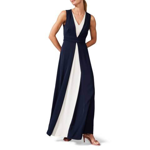 Phase Eight Navy Addy Maxi Dress