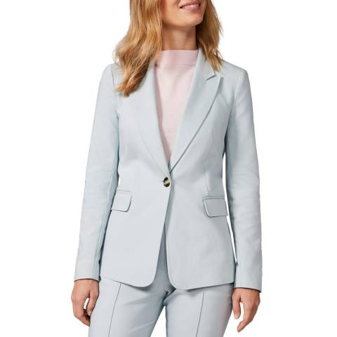Phase Eight Pale Blue Ulrica Seamed Jacket