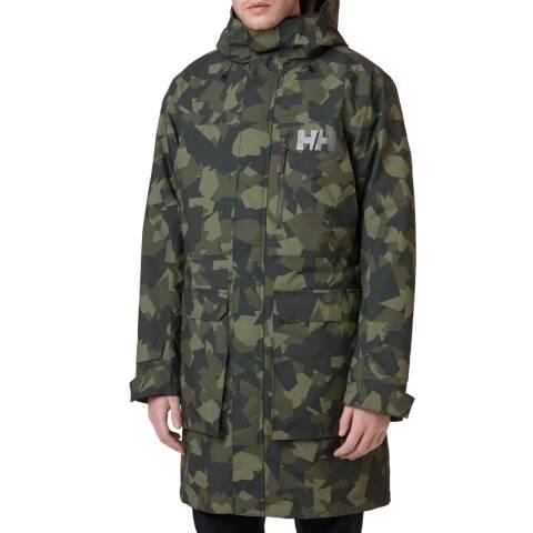 Helly Hansen Mens Camo Rigging Coat
