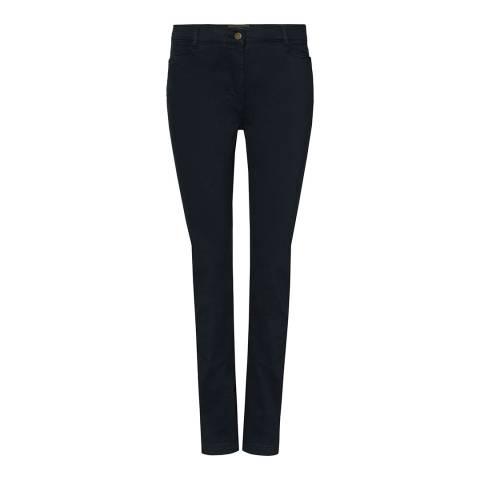 Purdey Ladies Navy Stretch Cotton Jeans