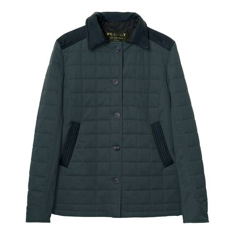 Purdey Ladies Navy Studland Quilt Jacket