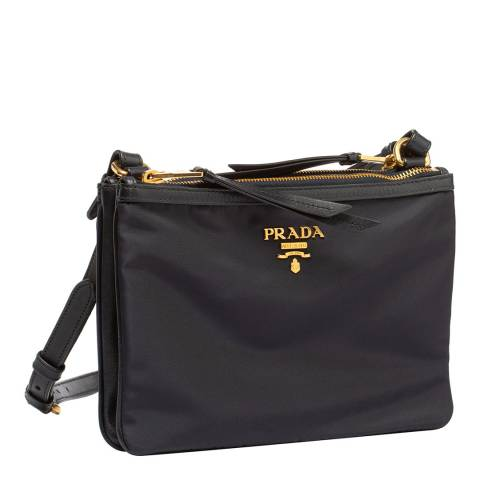 Prada Navy Nylon Crossbody Bag