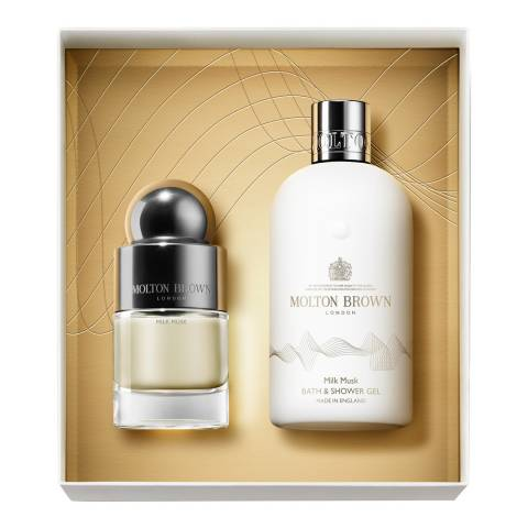 Molton Brown Milk Musk Fragrance Layering Gift Set Worth £82