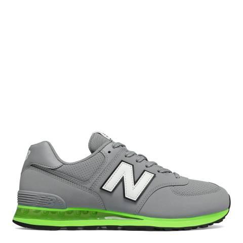 New Balance Grey 574 Sneaker