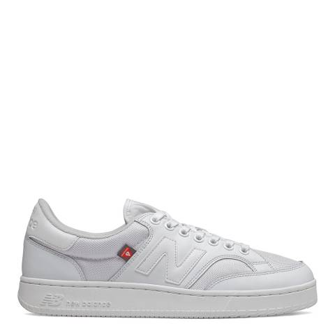 New Balance White Pro Court Cup Sneaker