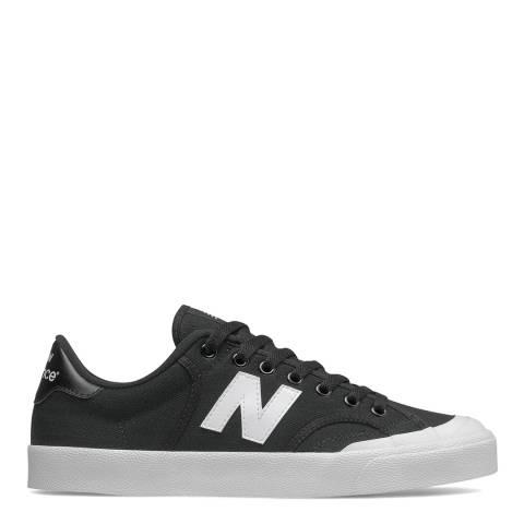 New Balance Black/White Pro Court Sneaker