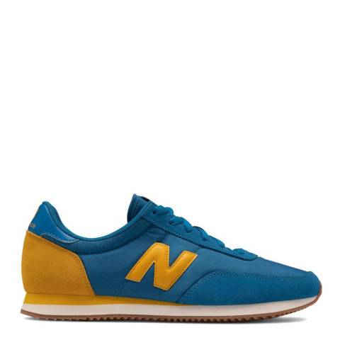 New Balance Blue/Yellow 720 Sneaker