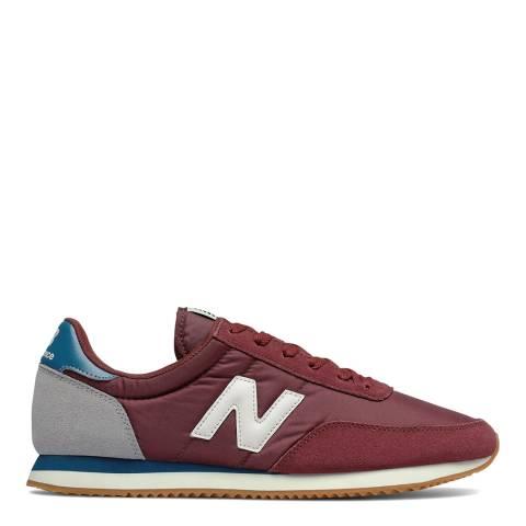 New Balance Burgundy 720 Sneaker