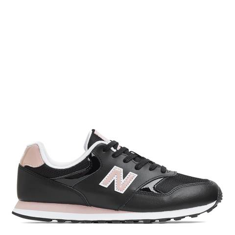 New Balance Black/Pink 393 Sneaker