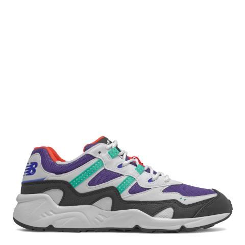 New Balance White/Multi 850 Sneaker