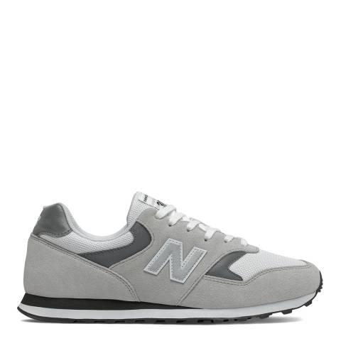 New Balance Grey 393 Sneaker
